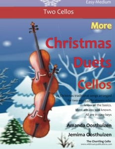26 pieces arranged for two equal players who know all the basics Easy Duets from Around the World for Clarinet and Cello Includes several Christmas pieces All are in easy keys.