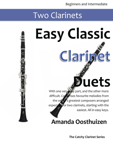 Easy classic duets recorder flute clarinet and bassoon with